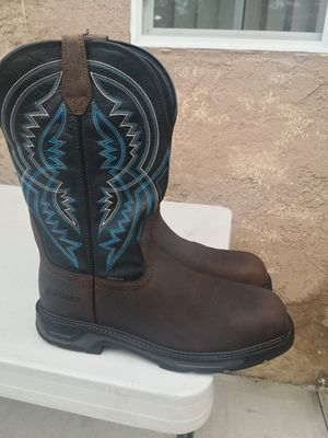 Ariat carbón toe work boots size 13D for Sale in Riverside, CA