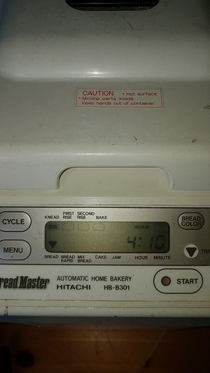 Hitachi Bread Master, bread maker for Sale in Oakland Park, FL
