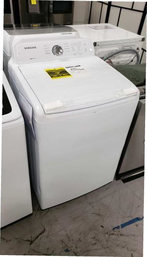 Samsung Washer 5.0 cu. ft. High-Efficiency in White Top Load Washing Machine with Super Speed for Sale in Anaheim, CA