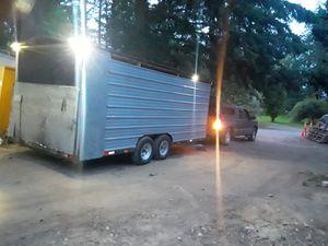 20ft utility trailer for Sale in Oak Harbor, WA