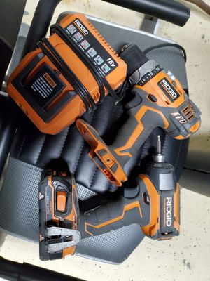 Ridgid drill and impact for Sale in Thomaston, CT