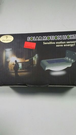 Solar motion light for Sale in Falls Church, VA