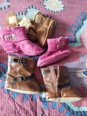 UGG :Baby girl boots. for Sale in District Heights, MD