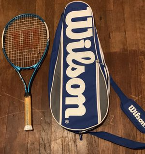 Wilson tennis Racket and equipment bag for Sale in Stratford, CT