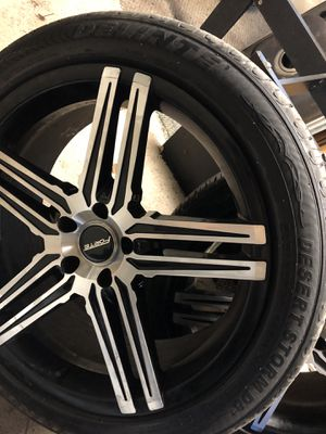 20 inch rims for Sale in Saginaw, MI