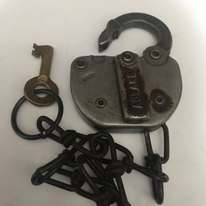 Old B&O Railroad Switch Lock And Key for Sale in Knoxville, MD