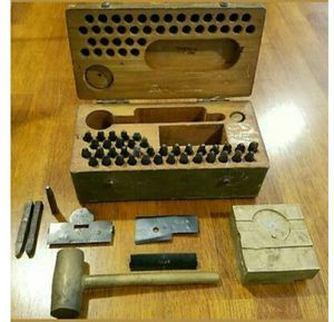 World War I dog stamping kit for Sale in Woodland, MI