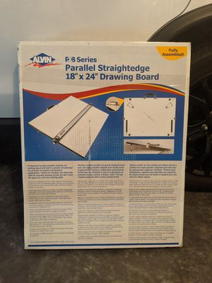 """Alvin PXB Series Parallel Straightedge 18"""" x 24"""" Drawing Board for Sale in Savannah, GA"""