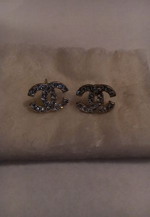 Chanel stud earrings for Sale in Portland, OR