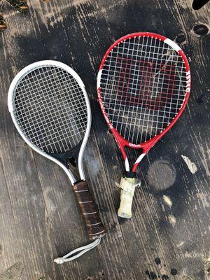 Set of 2 racquet ball tennis rackets for Sale in Centennial, CO