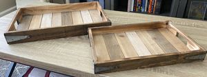 Matching Decor Trays (One big one small) for Sale in Carlsbad, CA