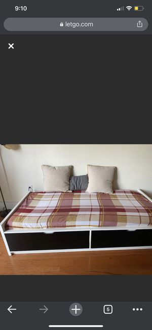 Twin bed with Mattress for Sale in Hoboken, NJ