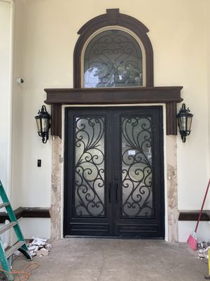 Steel front Door and Window. for Sale in Montclair, CA