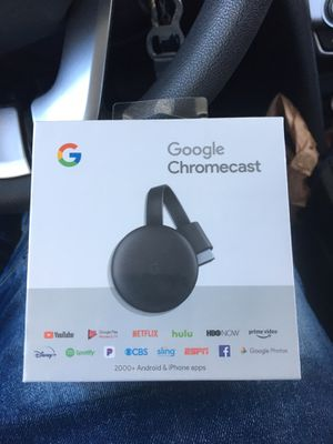 New in box Google chromecast 3rd generation for Sale in Las Vegas, NV