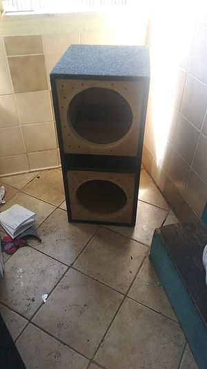 12 inch subwoofer box for Sale in Piedmont, CA