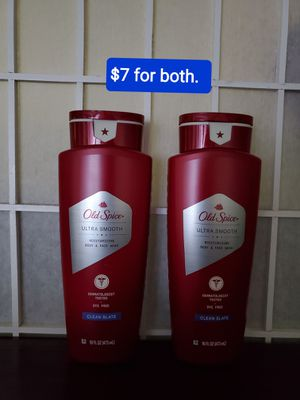 2 old spice body + face wash ULTRA SMOOTH (16 fl oz) NUEVOS PRECIO FIRME/NO AGO ENTREGAS for Sale in Santa Ana, CA