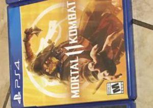Mortal kombat 11 ps4 for Sale in Glendale, AZ