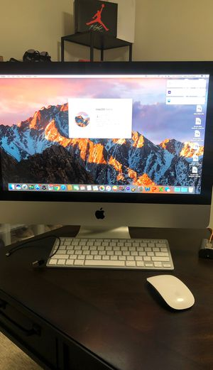 iMac 21.5 Mid 2011 still works great no problems for Sale in Chula Vista, CA