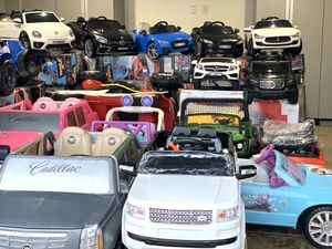 Kid ride on cars power wheels remote control electric kids cars for Sale in Murrieta, CA