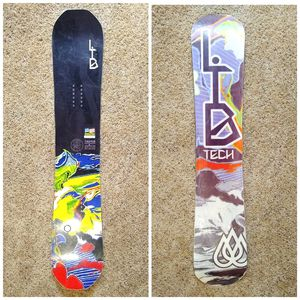 Lib tech T.Ripper snowboard tech loaded ice gripping all mountain size 141 for Sale in Rowland Heights, CA