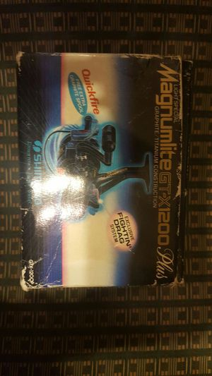 magnumlite gt-x1200 plus fishing reel for Sale in Columbus, OH