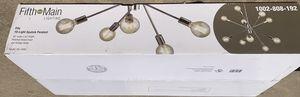 Fifth and Main Lighting Fife 10-Light Polished Nickel Pendan for Sale in Marietta, GA