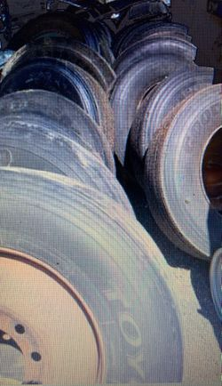 Semi Truck Tires and rims 22.5 & 24.5 for Sale in Canby,  OR