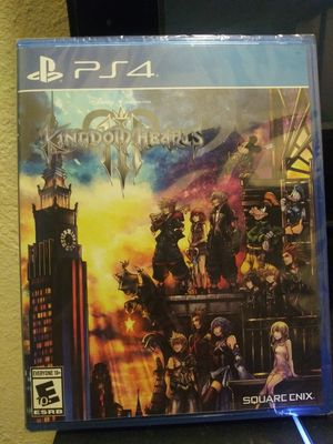 Kingdom Hearts 3 ps4 (NEW UNOPENED) for Sale in Long Beach, CA