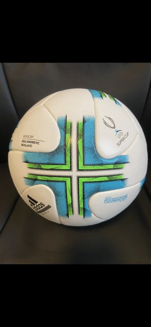 SOCCER BALL BRAND NEW MATCH BALL FIFA APPROVED SUPERCUP NOT REPLICA OR TRAINING OFFICIAL SOCCER MATCH BALL SIZE 5. NO TRADES. NO DELIVERY. PICK UP: A for Sale in Alexandria, VA