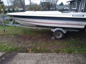 Boat and Trailer Bayliner No Engine for Sale in Tacoma, WA
