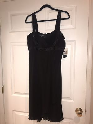 BRAND NEW SIZE 12 BLACK JONES WEAR EVENING DRESS WITH TAG for Sale in South Brunswick Township, NJ