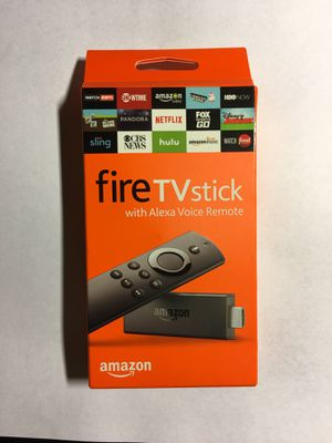 Brand New Amazon Fire TV Stick with Alexa Voice Remote | Streaming Media Player for Sale in San Jose, CA