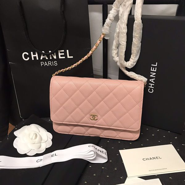 Mini Chanel Wallet On Chain