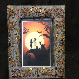 Nightmare Before Christmas 🎄 Jack and Sally Framed for Sale in Louisville, KY