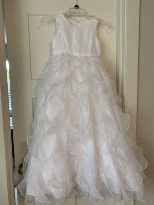 Flower Girl White Dress for Sale in Gresham, OR