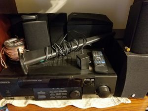 Kenwood home receiver W/ surround sound. for Sale in Marion, OH