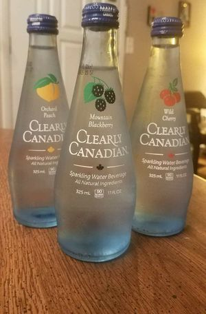 Clearly Canadian bottle water for Sale in Houston, TX