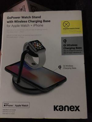 Apple Watch, I phoneWireless charging base for Sale in Everett, WA