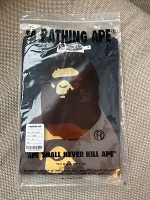Bape x OVO T-Shirt Black Size M for Sale in Houston, TX