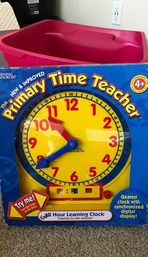 Teaching Clock for Sale in Allen, TX