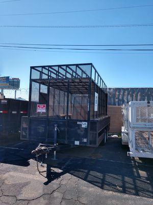 Caged trailer for Sale in Tempe, AZ