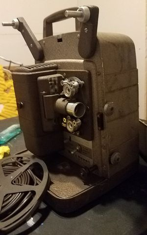 50's projector film camera lights vintage Bell & Howell 8mm for Sale in San Antonio, TX