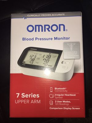 Omron 7 series Blood Pressure Monitor for Sale in Alexandria, VA