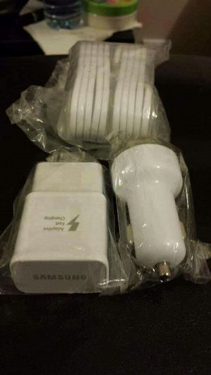 Samsung Combo/Brand New Original Samsung Fast Charger and Car Charger for Sale in National City, CA