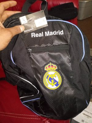 Brand New Authentic Real Madrid FC Backpack for Sale in Columbus, OH