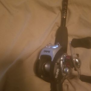 Rhino Tough Bait Casting Rod And Real Good Condition for Sale in Queen Creek, AZ