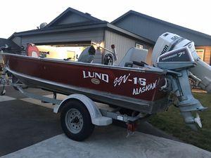 Lund Alaskan SSV 16 ft Boat for Sale in East Wenatchee, WA