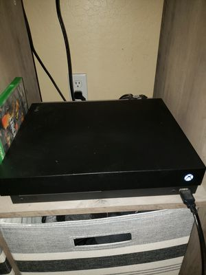Xbox one X for Sale in Buckeye, AZ