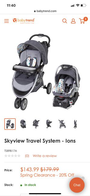 Sky view Travel System for Sale in Mesquite, TX