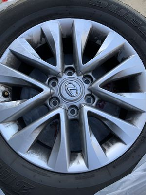 Lexus GX460 rims and tires for Sale in Lake Arrowhead, CA